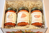 "Fall Scented Candle Collection Set, ""Pumpkin Fest"" - Pumpkin Pie Spice, Pumpkin Roll, Pumpkin Cheese Cake, Three 12 Ounce Candles - Country Rich Creations, LLC"