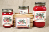 Christmas Splendor Candle and Wax Melts, Christmas Scent Candle, Highly Scented Candles and Wax Tarts, Mason Jar Candle, Holiday Candles - Country Rich Creations, LLC
