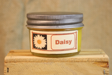 Daisy Flower Scented Candle,  Daisy Flower Scented Wax Tarts, 26 oz, 12 oz, 4 oz Jar Candles or 3.5  Clam Shell Wax Melts - Country Rich Creations, LLC