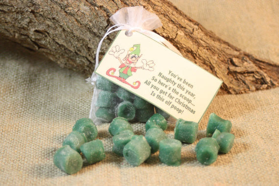 Elf Poop Candle Tarts, Holiday Tarts For Naughty List, Elf Poop Poem, Holiday Gag Gift, Great Stocking Stuffer - Country Rich Creations, LLC