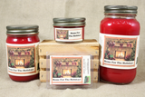 Home for the Holidays Candle and Wax Melts, Christmas Scent Candle, Highly Scented Candles and Wax Tarts, Mason Jar Candle, Holiday Candles - Country Rich Creations, LLC