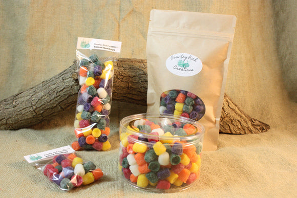 Spiced Gumdrop Candle Melts, Wax Melts, Gumdrop Tarts - Country Rich Creations, LLC