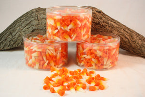 Halloween Candy Corn Tart Candles Scented in Sweet Candy Corn, Wax Fake Food, 13 ounces - Country Rich Creations, LLC
