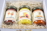 "Fall Scented Candle Collection Set, ""Delicious Fall Drinks"" - Caramel Apple, Pumpkin Spice Latte, Apple Ale, Three 12 Ounce Candles - Country Rich Creations, LLC"