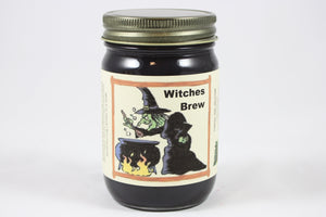 Witches Brew Scented Candle, 12 Ounce Fall Scented Candle, Halloween Candle - Country Rich Creations, LLC