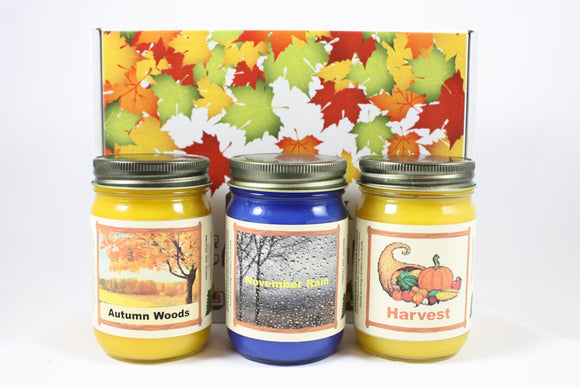 Fall Scented Candle Collection,