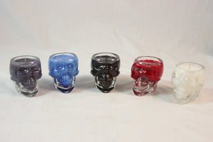 Crystal Skull Vodka Candle, Skull Candle Made to Order - Country Rich Creations, LLC