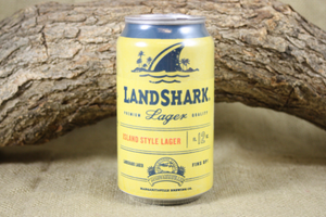 Beer Can Candle, You Choose the Scent of this Upcycled Landshark Beer Cans, Great Gift for Landshark Lovers - Free Shipping - Country Rich Creations, LLC