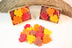 Leaf Shaped Candle Tarts, Fall Decoration, Fall Wax Melts, Halloween Decorations - Country Rich Creations, LLC