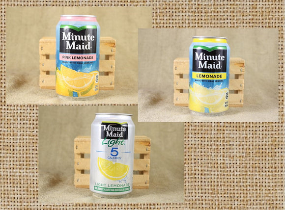 Minute Maid Lemonade Can Candle - Choose the Style of Can and Scent You Like - Free Shipping