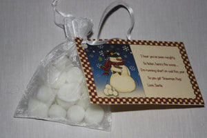 Snowman Poop Tarts - Mini Marshmallows - Snowman Poop Poem - Candle Tarts - Country Rich Creations, LLC