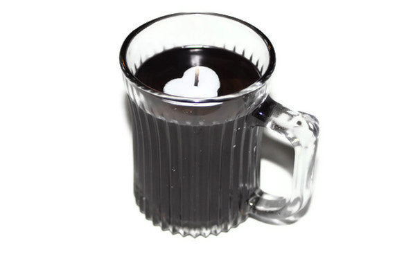 Coffee Candle Mug Highly Scented in Fresh Brewed Coffee Perfect Gift for Any Coffee Lover - Country Rich Creations, LLC