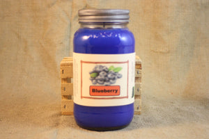 Blueberry Candle and Wax Melts, Fruit Scent Candle, Highly Scented Candles and Wax Tarts, Mason Jar Candle, Hostess Gift - Country Rich Creations, LLC