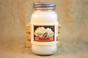 Gardenia Candle,  Scented Candles and Wax Melt, Flower Scent Candle, Highly Scented Candles and Wax Tarts, True Gardenia Scent, Gift for Mom - Country Rich Creations, LLC