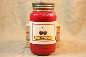 Cherry Scent Candles and Wax Melts, Fruit Scent Candle Wax, Highly Scented Candles and Wax Tarts, Great For Anytime of the Year - Country Rich Creations, LLC