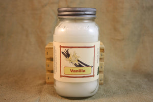 Vanilla Scented Candle, Vanilla Scented Wax Tarts, 26 oz, 12 oz, 4 oz Jar Candles or 3.5 Clam Shell Wax Melts - Country Rich Creations, LLC