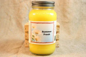 Summer Fresh Scent Candles and Wax Melts, Nature Scent Candle Wax, Highly Scented Candles and Wax Tarts, Summertime Scent - Country Rich Creations, LLC