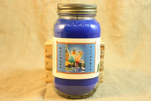Bermuda Triangle Scent Candles and Wax Melts, Beverage Scent Candle Wax, Highly Scented Candles and Wax Tarts, Summer Cocktail Scent - Country Rich Creations, LLC
