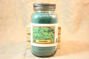 Cannabis Flower Scent Candles and Wax Melts, Flower Scent Candle Wax, Highly Scented Candles and Wax Tarts, Unique Scent - Country Rich Creations, LLC
