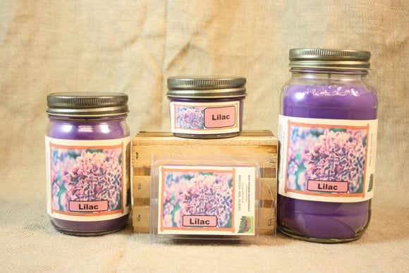 Lilac Candle, Scented Candles and Wax Melts, Highly Scented Floral Candles and Wax Tarts, Springtime Scent, Candle for Mom, Mothers Day Gift - Country Rich Creations, LLC