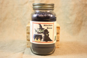 Witches Brew Candles and Wax Melts, Beverage Scent Candle, Highly Scented Candles and Wax Tarts, Halloween Candle, Fall Scented Candle - Country Rich Creations, LLC