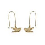 Swallow Earrings - Jewellery - Eighteen Rabbit Fair Trade  - 1