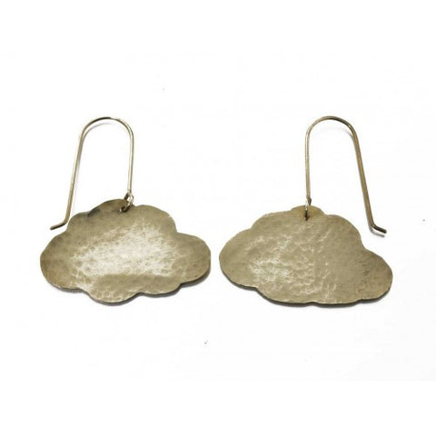 Cloud Earrings - Jewellery - Eighteen Rabbit Fair Trade  - 2