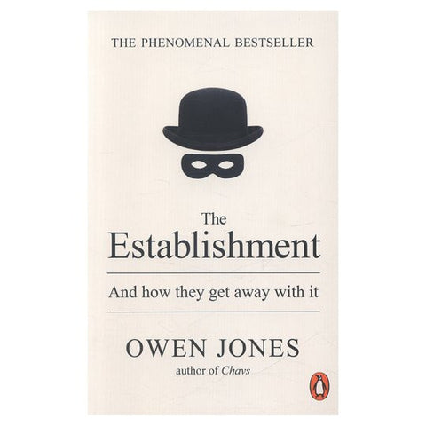 The Establishment - Owen Jones - Stationery - Eighteen Rabbit Fair Trade
