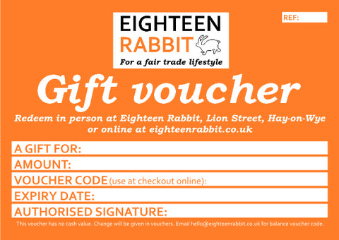 Vouchers - gift vouchers for lucky bunnies
