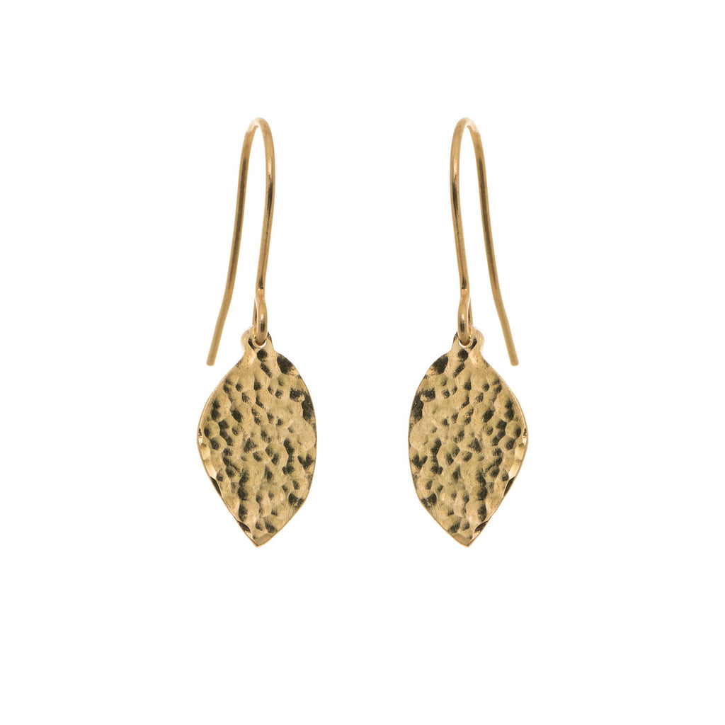 Precious Drops of Gold Earrings