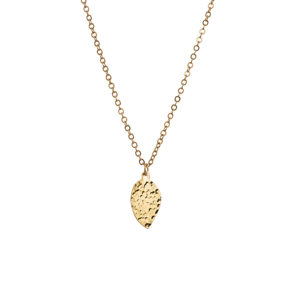 Precious Drops of Gold Necklace