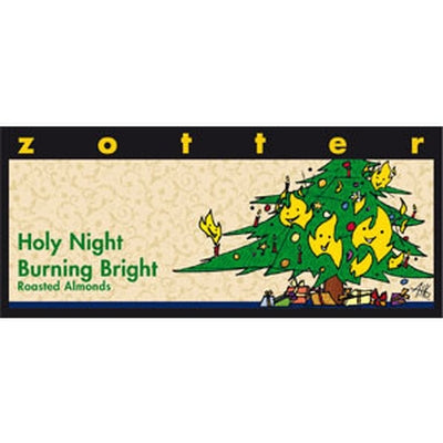 Holy Night Burning Bright Chocolate - Chocolate - Eighteen Rabbit Fair Trade