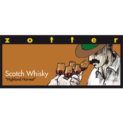 Scotch Whisky Chocolate - Chocolate - Eighteen Rabbit Fair Trade  - 1