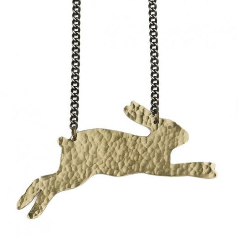 Hare Necklace - Jewellery - Eighteen Rabbit Fair Trade  - 1
