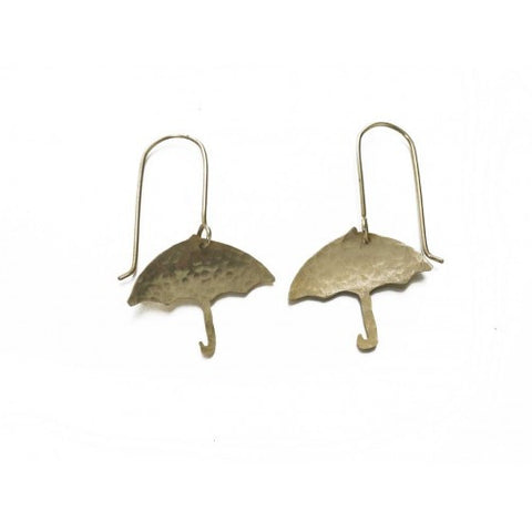 Umbrella Earrings - Jewellery - Eighteen Rabbit Fair Trade  - 2
