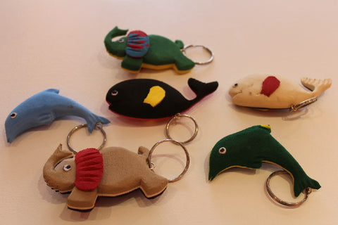 Flip Flop Keyrings - Homeware - Eighteen Rabbit Fair Trade  - 1