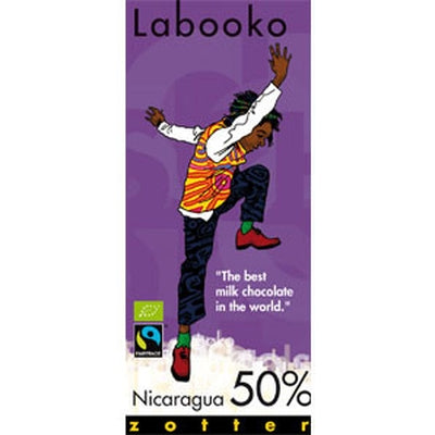 Nicaragua 50% Chocolate - Chocolate - Eighteen Rabbit Fair Trade