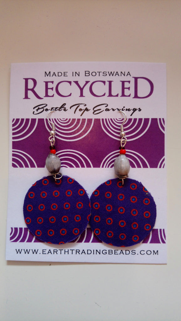 Bottle Top Earrings