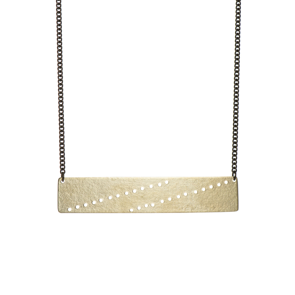 Maria Rectangle Necklace