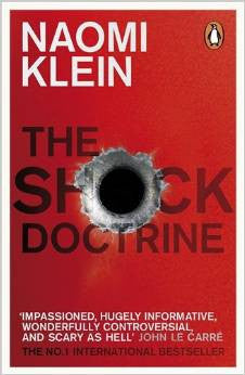 The Shock Doctrine - Naomi Klein - Stationery - Eighteen Rabbit Fair Trade