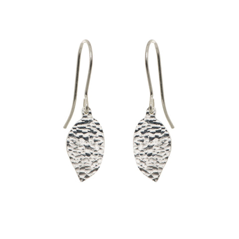 Precious Drops of Silver Earrings