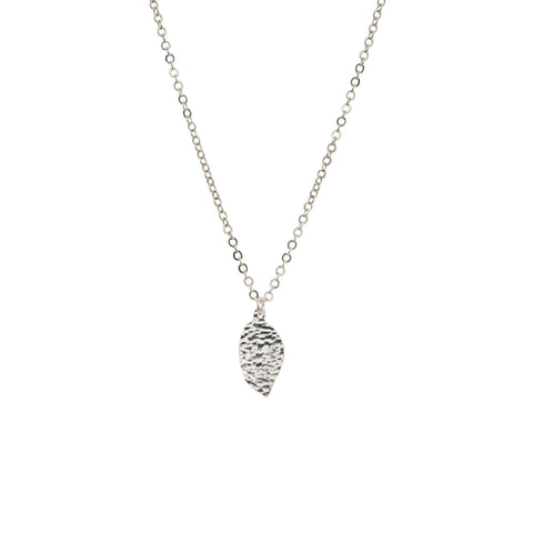 Precious Drops of Silver Necklace
