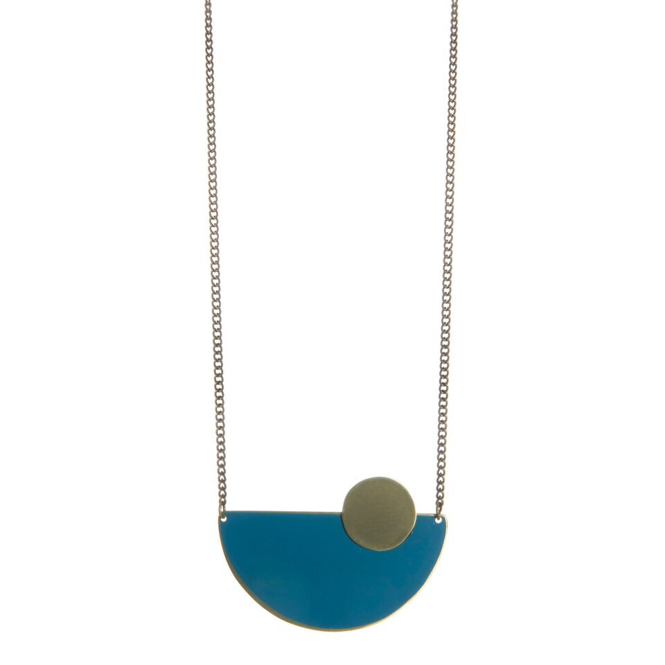 Statement Semicircle Necklace