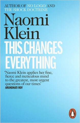 This Changes Everything - Naomi Klein - Stationery - Eighteen Rabbit Fair Trade