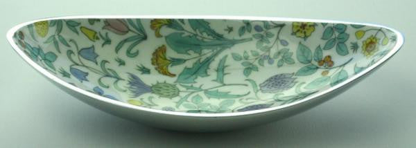 V&A Charles Voysey Recycled Aluminium Long Bowl - Homeware - Eighteen Rabbit Fair Trade  - 2