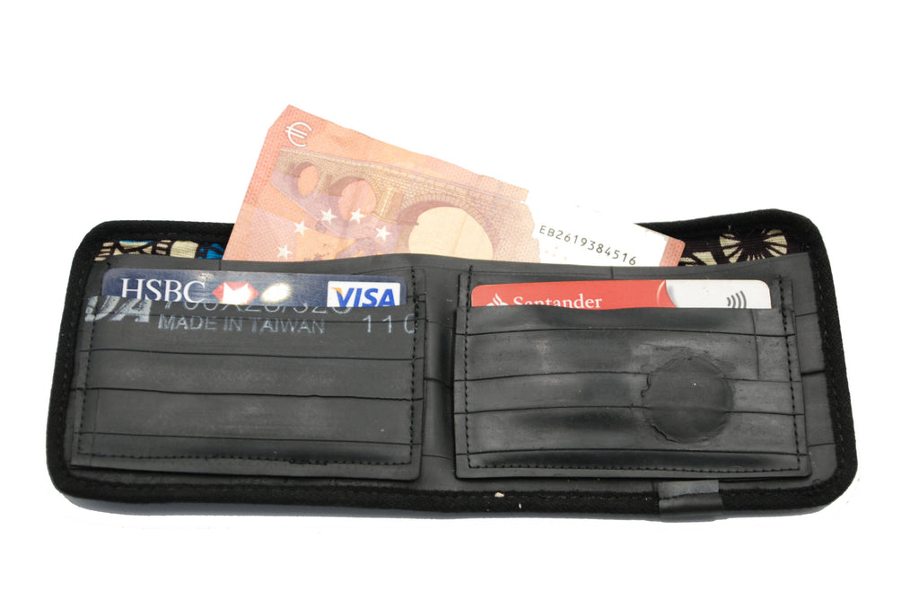 Cycle of Good Recycled Tyre Wallet