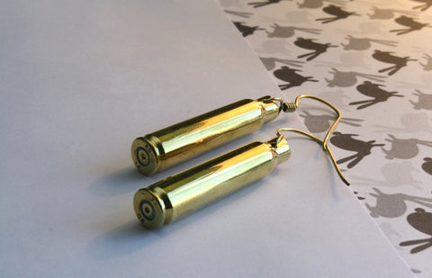 Bullet earrings - Jewellery - Eighteen Rabbit Fair Trade  - 1