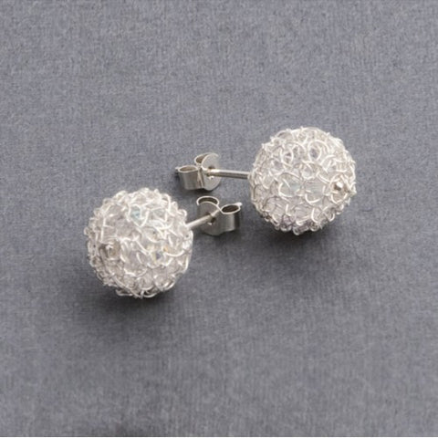 Cristabel stud earrings - Jewellery - Eighteen Rabbit Fair Trade