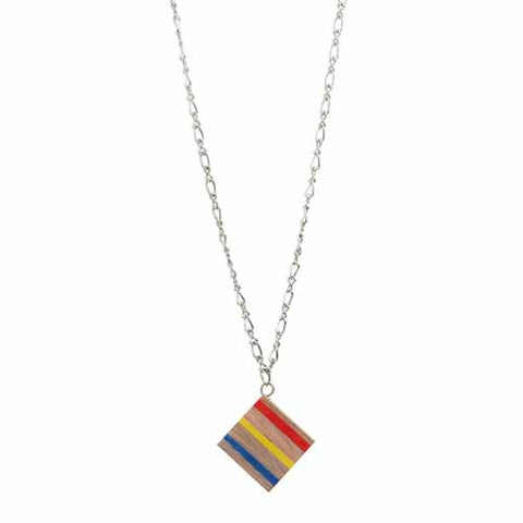 Jewellery ethically cool necklaces and pendants eighteen rabbit colouring book cube necklace aloadofball Images