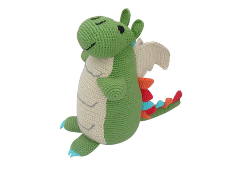 Clyro the Green Dragon - Soft toys - Eighteen Rabbit Fair Trade